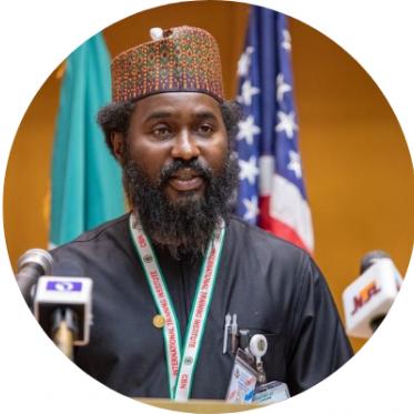 Honorable Aliyu Gebi, Senior Adviser, Ministry of Interior